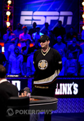 A dejected Phil Hellmuth