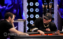 Rast and Hellmuth keep battling