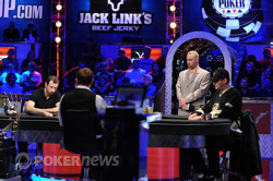 Brian Rast and Phil Hellmuth battle heads up
