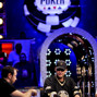 Brian Rast, left, and Phil Hellmuth, right.