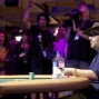 Only can win. David Bach sees his fate. Michael Binger and Liv Boeree celebrate Nick Bingers victory simultanously.