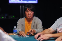 Masa Kagawa took a hit to his stack.
