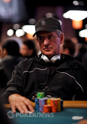 Fred Berger - Chip Leader