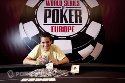 Guillaume Humbert-winner of Event 1 at the 2011 WSOPE