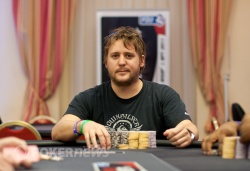 Nicolas Fierro the chip leader