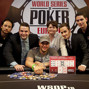 Michael Mizrachi with tournament staff