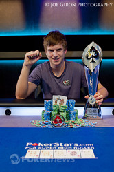 Viktor Blom - champion