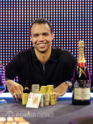 Welcome back to the winner's circle Phil Ivey!