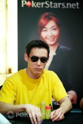 Andrew Kim, el chip leader