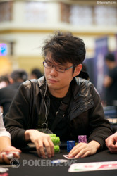 Day 1a chipleader, Han Ruo Goh