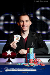 Super High Roller champion Justin Bonomo