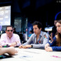 Angel Guillen seated next to Liv Boeree
