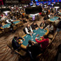 A view of the tournament area on the first day of the 2012 World Series of Poker.