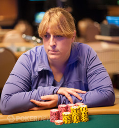Amy Brady - out in 15th place ($3,379)