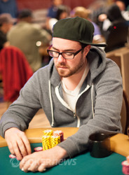 John Vohs - out in 10th place ($4,189)