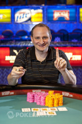 Andy Bloch is the bracelet winner of Event 7