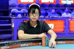 Joseph Cheong is looking to extend his lead.