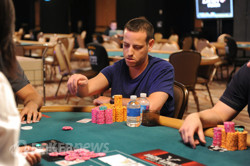 Eric Buchman (photo from 2011) is looking for his second bracelet.