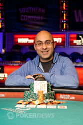 Congratulations to Ashkan Razavi, Winner of Event 9: $1,500 No Limit Hold'em Re-Entry ($781,398)!