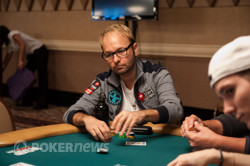 Daniel Negreanu just doubled.