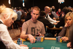 Jeff Madsen looking for a third bracelet