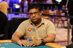Victor Ramdin is in contention for his first WSOP gold bracelet