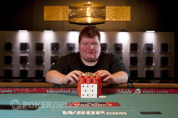 Bracelet Winner Brian Meinders