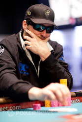 Phil Hellmuth is inching closer two number twelve.