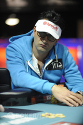 Antonio Esfandiari took the lead.
