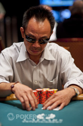 David Pham looking to win his third World Series of Poker gold bracelet.