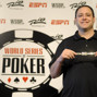 David Baker, Recieves World Seies Of Poker Bracelet