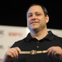 David Baker, Recieves World Seies Of Poker Bracelet