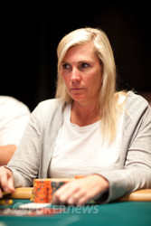 Jackie Glazier - looking to be the first woman to win an open event this year.