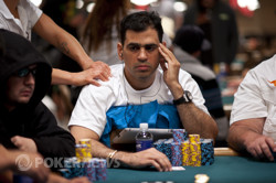 Amnon Fillipi close to chip lead