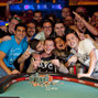 WSOP Gold Bracelet Winner Joey Weissman and supporters
