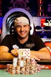 Champion Michael Mizrachi