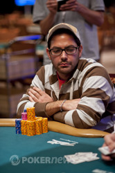 Vincent Gironda leads with 10 left in Event 40