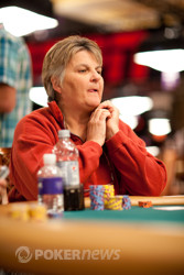 Peg Ledman Eliminated in 13th Place ($7,716)