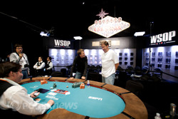 Vladimir Mefodichev and Neil Willerson Heads Up on Day 3