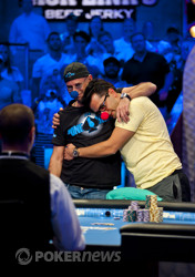 Guy Laliberté and Antonio Esfandiari