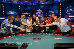 2012 World Series of Poker Main Event Octo-Nine with WSOP TD Jack Effel
