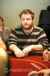 Chip leader - David Allan