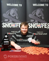 David Allans Wins the 2012 PokerStars.net ANZPT Queenstown Snowfest Main Event (NZD$110,600)