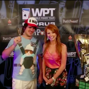 Lynn Gilmartin Interviewing the Champion