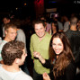 Sam Chartier, Scott Seiver, Liv Boeree and Jonathan Duhamel at the player party
