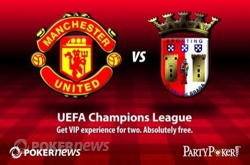UEFA Champions League promotion from PartyPoker