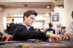 Vanessa Selbst fights for her second bracelet of 2012