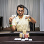 Antonio Esfandiari with his WSOPE Bracelet