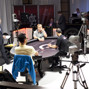 Antonio Esfandiari and Remi Bollengier are heads up for the bracelet