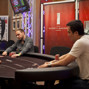 Mike Watson and John Juanda heads up in the 50k High Roller